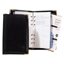 personal address book 5 1 16 x7 9 16 black rol66425